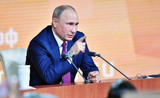 Путин: Россия не допустит повторения у себя украинского сценария