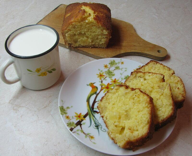 Ананасово-кокосовый кекс