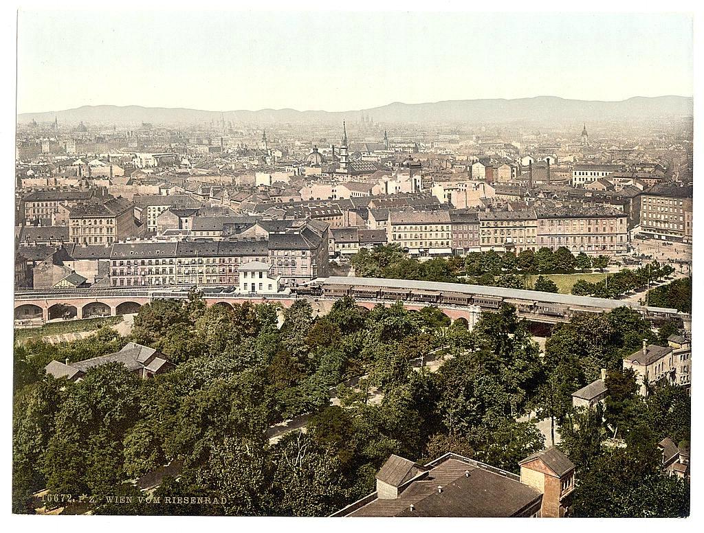 Вена в 1890 - 1900 годах. 0_6037c_130153a2_orig