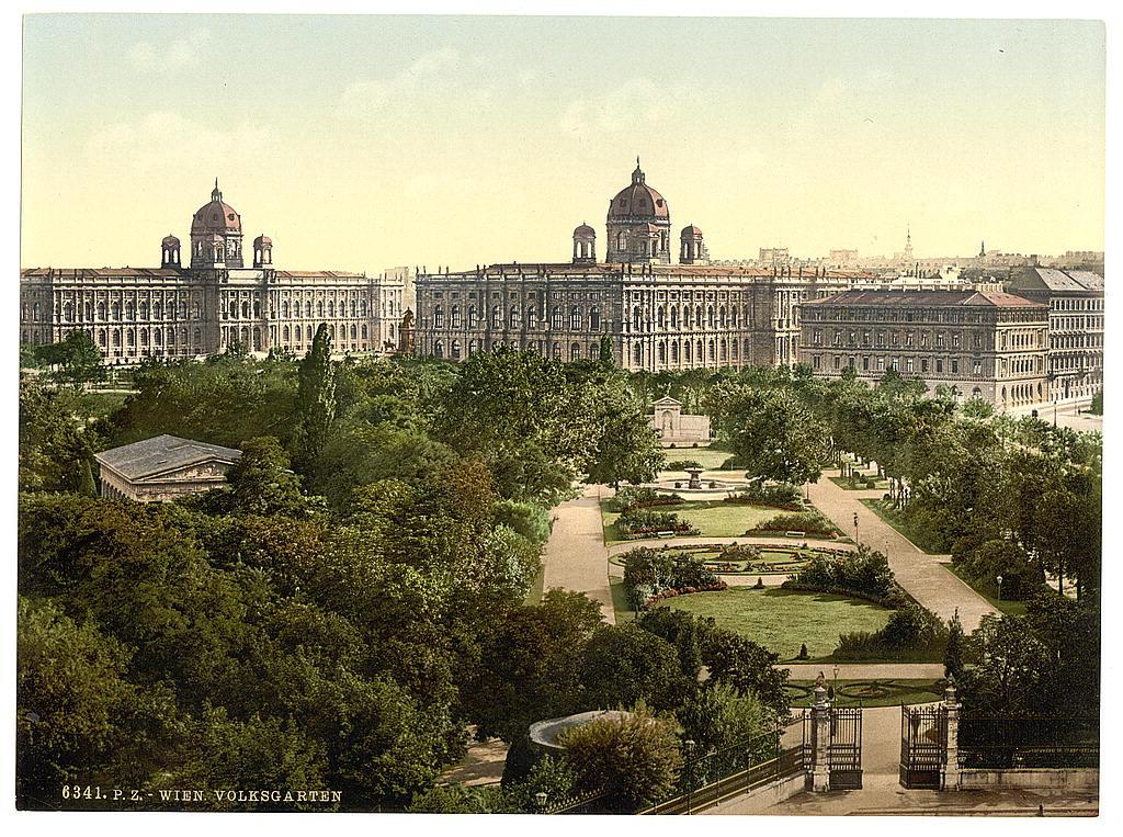 Вена в 1890 - 1900 годах. 0_6038f_b9e1ded7_orig