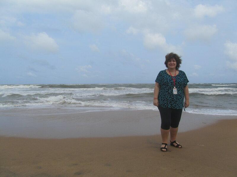 Маунт-Лавиния я и пляж-3.JPG