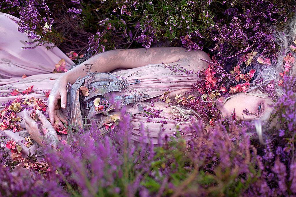 Сюрреализм Кирсти Митчелл фотопроект страна чудес