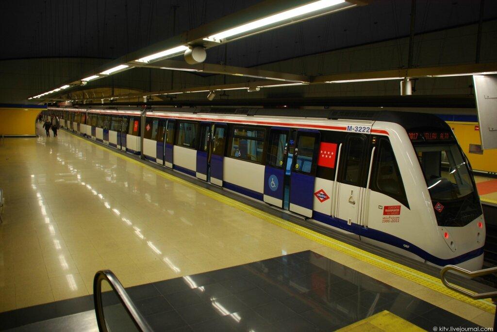 метро Мадрида - очень