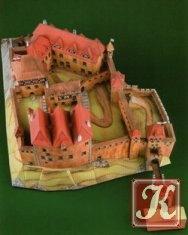 Книга Бумажные макеты. Старинные замки. Распечатай, выреж, склей