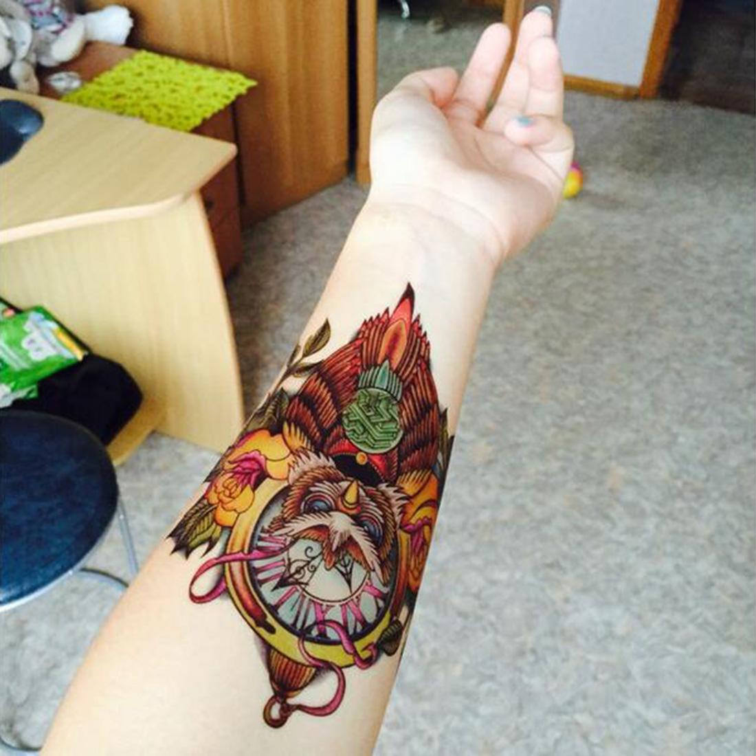 Наклейка для татуировки