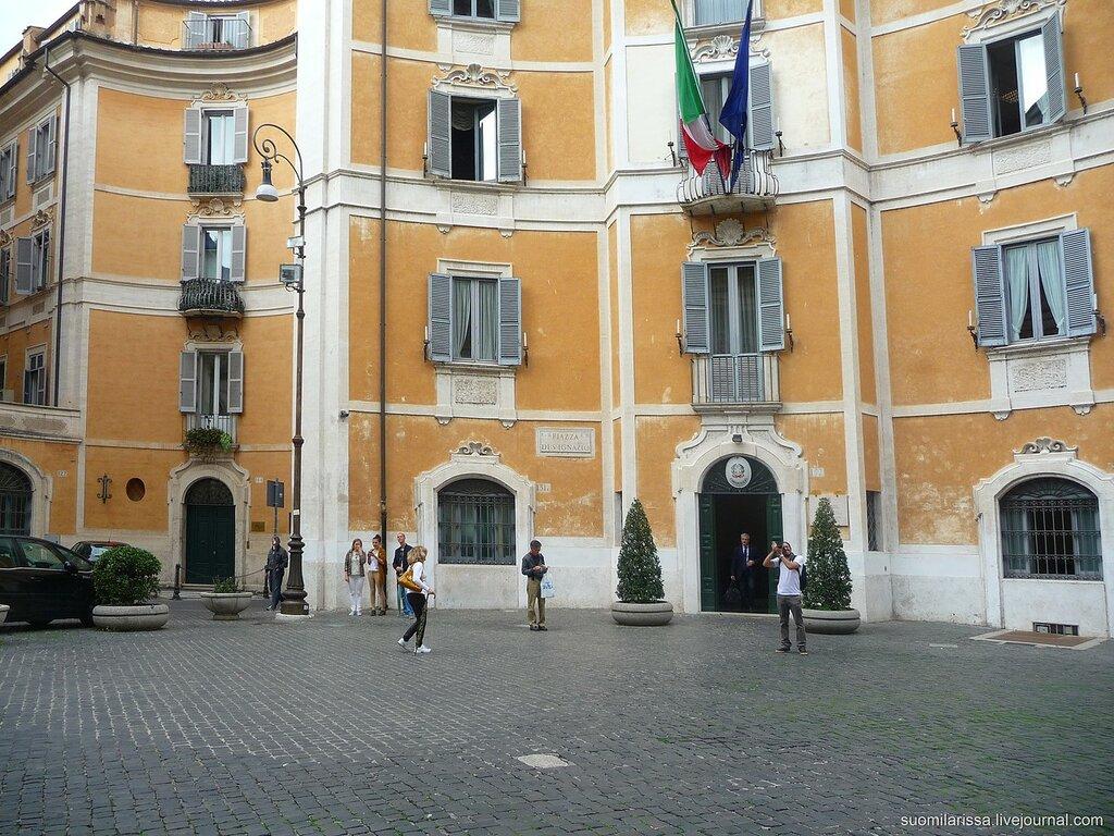 Piazza Sant'Ignazio.