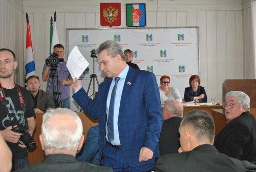 сессия горсовета Барабинска