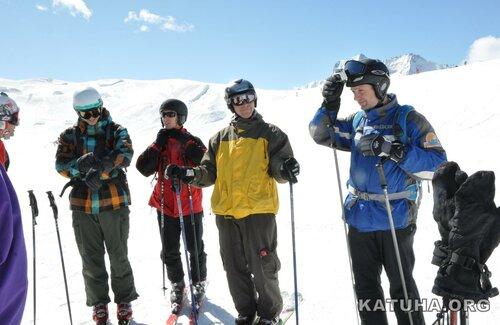 Лыжная катуха на шиханах