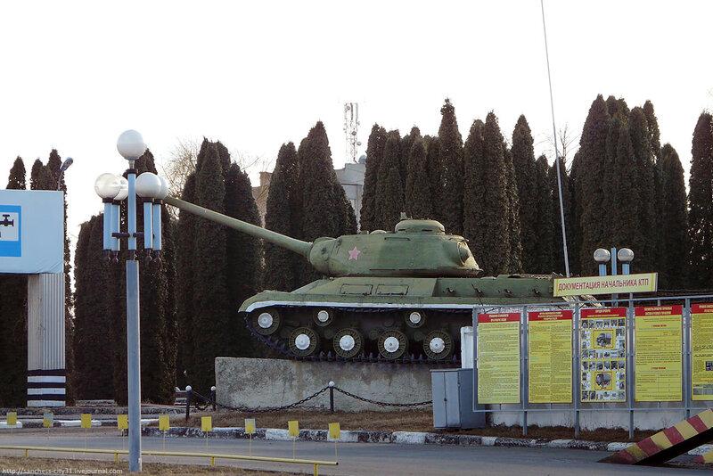 Памятник-танк ИС-2 в Белгороде