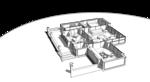Крыльцо, гостиная, спальня, кровля, жилой дом, остекленная, терраса, столовая камин, в центре террасы