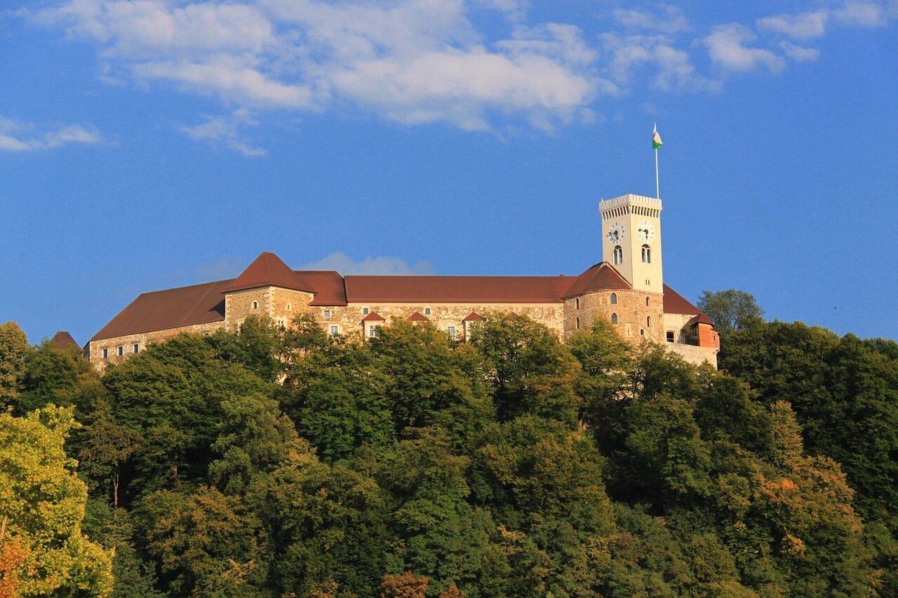 Люблянский замок (Ljubljana castle)