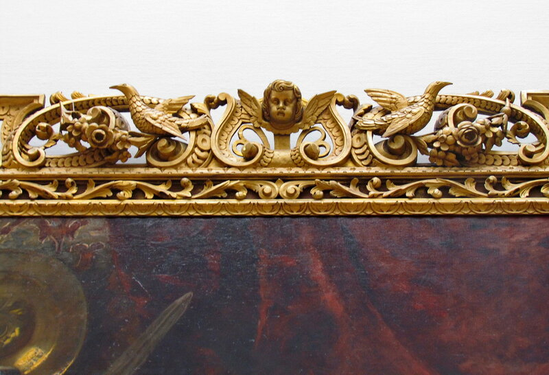 Рама картины Маковского