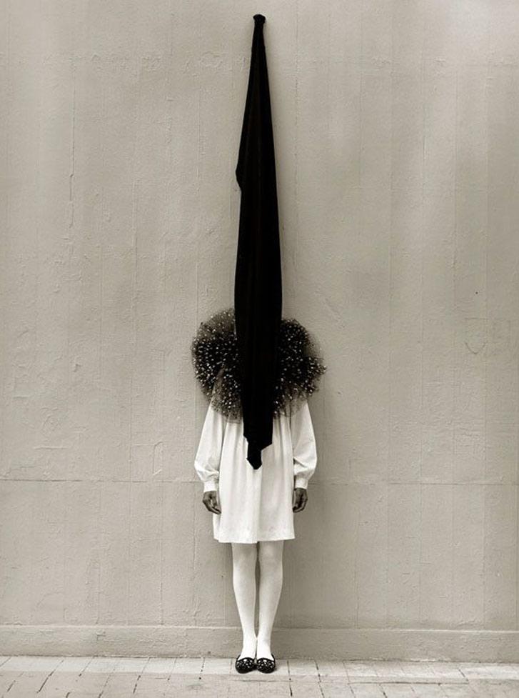 работа фотографа Альберта Уотсона / Leslie Weiner, London, 1989 - photo by Albert Watson