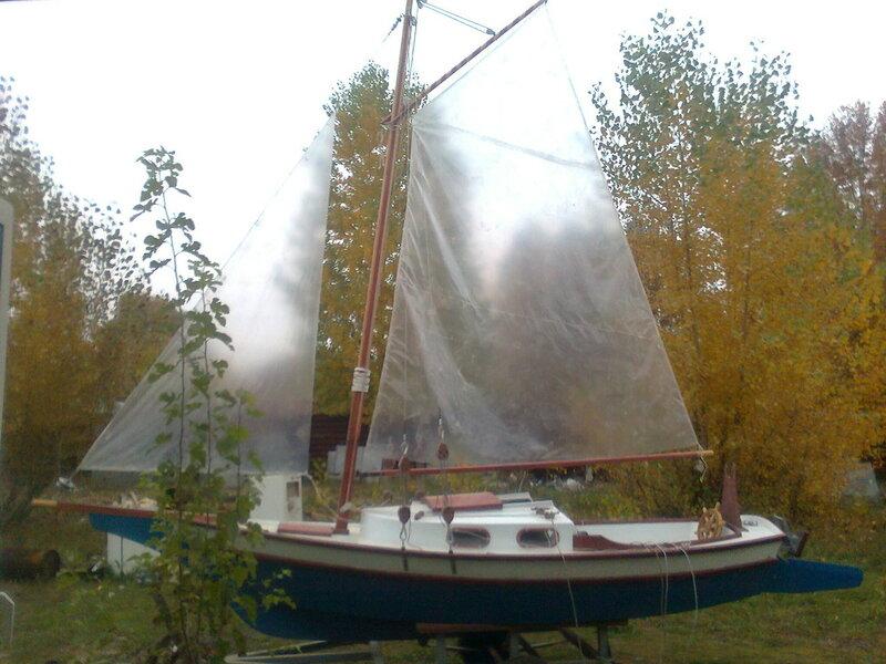 Как построить яхту своими руками