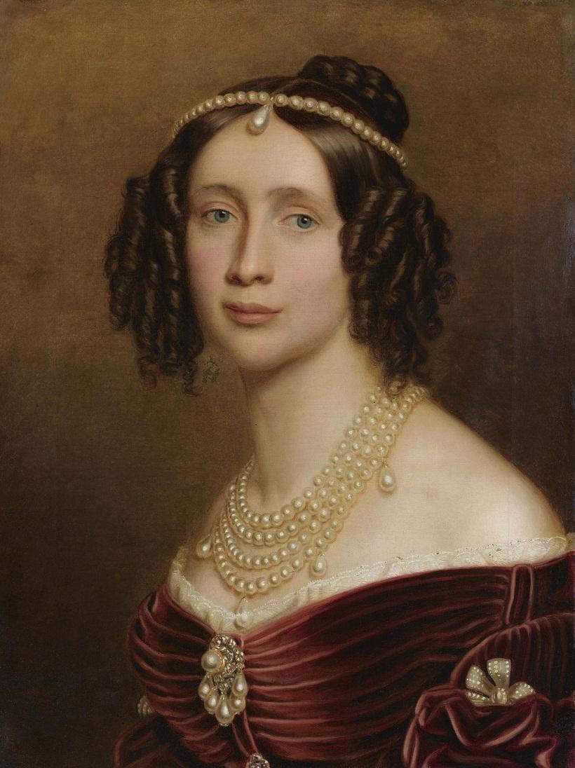 Сестра-близнец Софии Marie Anne, Princess of Bavaria (1805-1877) Joseph Karl Stieler