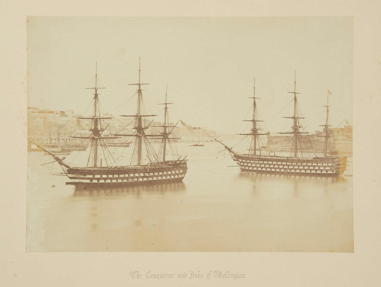 «Conqueror» и «Duke of Wellington»