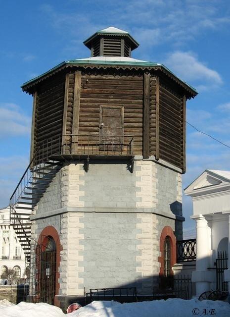 Водонапорная башня в