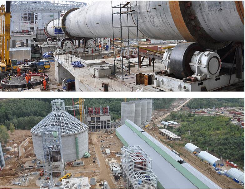 Строительство цементного