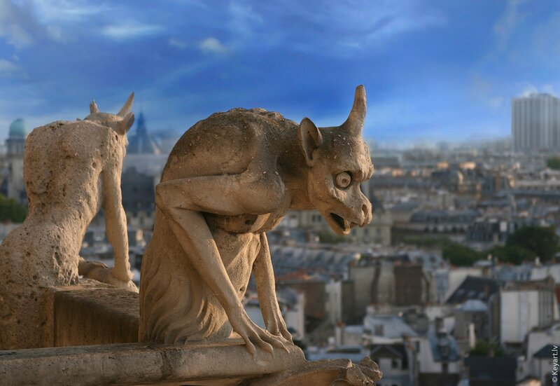 Gargoyle of Notre Dame de Paris