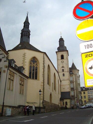 Люксембург. Церковь святого Михаила (2)