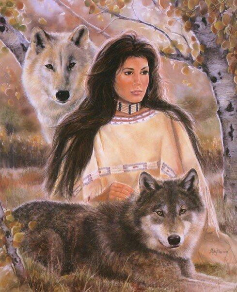 имена индейцев женские