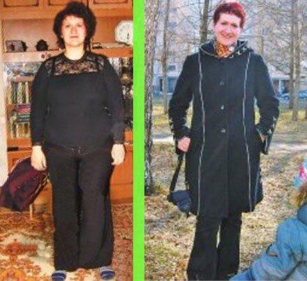 Как Лариса за полгода похудела на 30 килограмм?