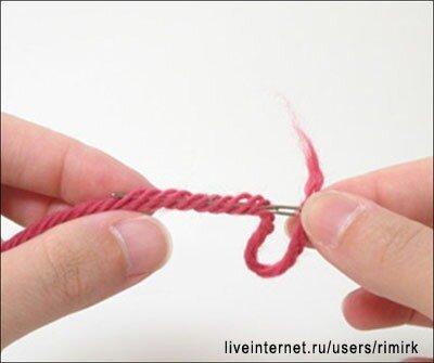 كيف تصلي طرفي خيطين لحياكة نظيفة ادخال الوان في الكروشية تعليم