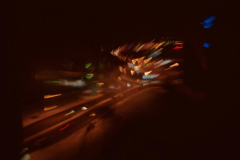 улица города, абстрактное экспериментальное фото