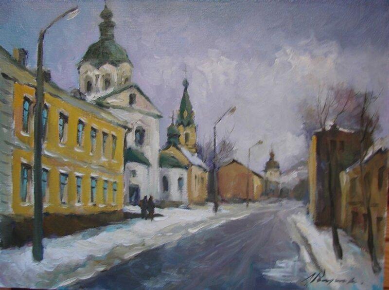 Художник Леонид Романенко
