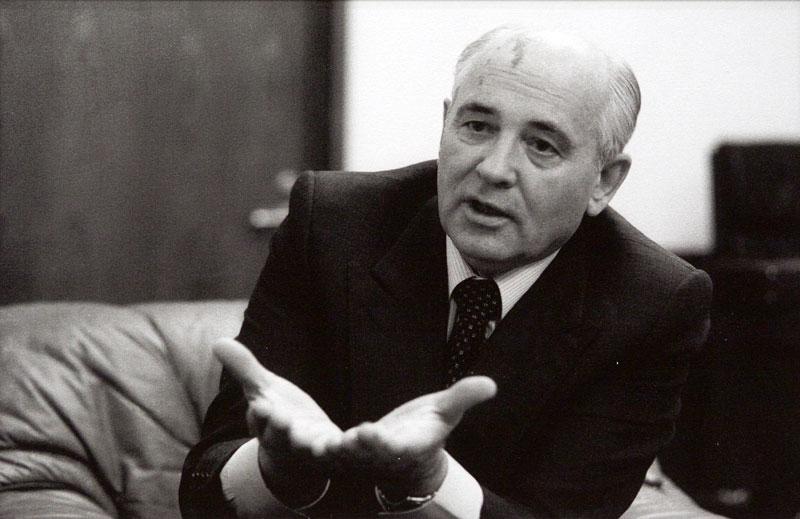 Выставочный проект 'Михаил Горбачев. Perestroika'