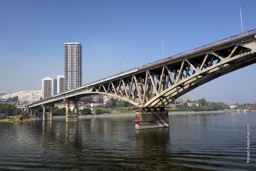 Саратовский мост через Волгу, небоскреб «Елена»
