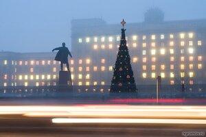 Танцующий Ленин (елка, Ленин, памятник)