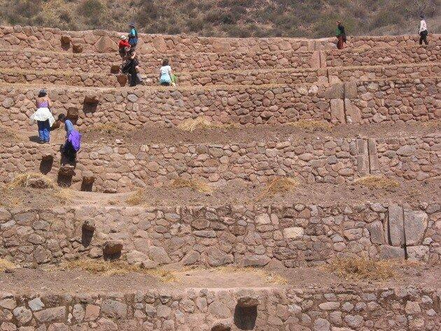 Террасы Морай. Перу