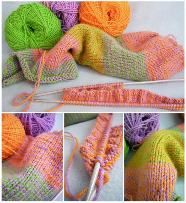 Вязание кардиганов с капюшоном для девочек
