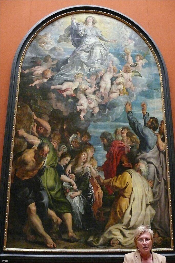 """Петер Рубенс """"Вознесение Марии"""" 1611-24"""