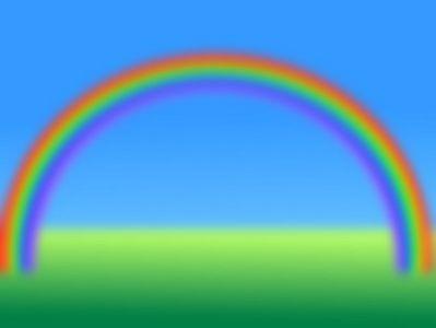 Как располагаются цвета в радуге