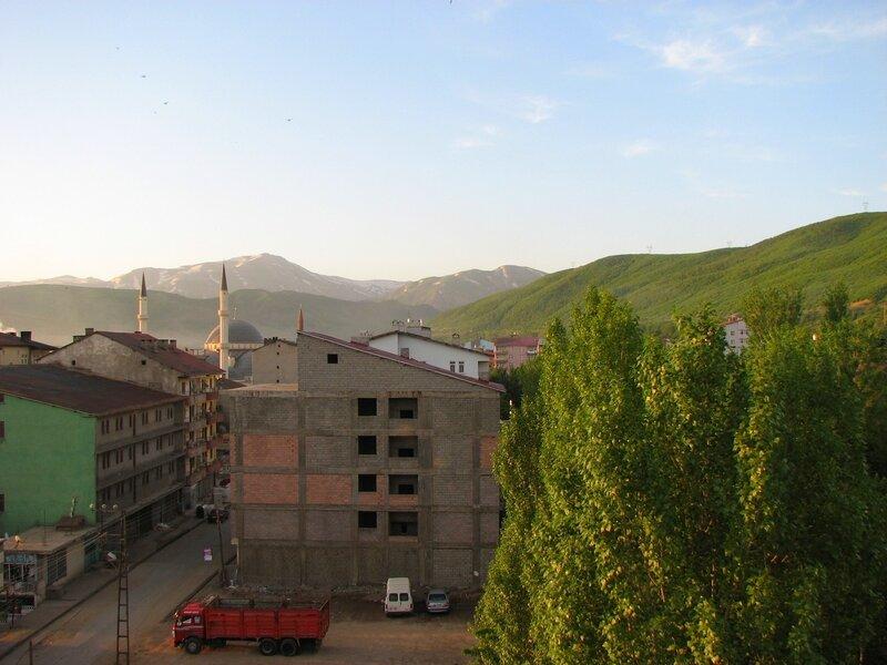Рассвет в Татване (Турция)