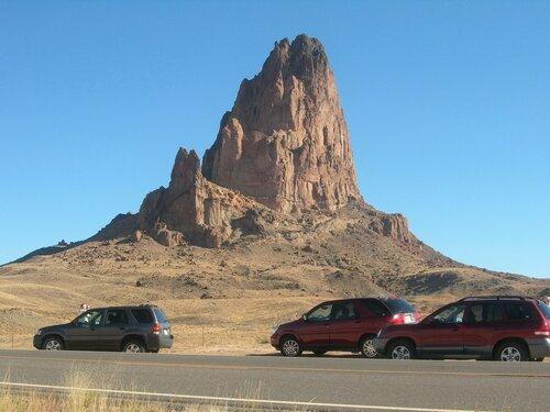 Необычная скала в Аризоне. Как не остановиться?