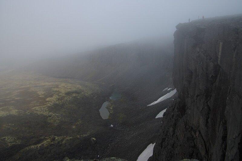 туман начинает рассеиваться...
