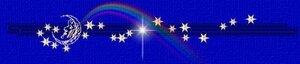 разделитель месяц и звёзды