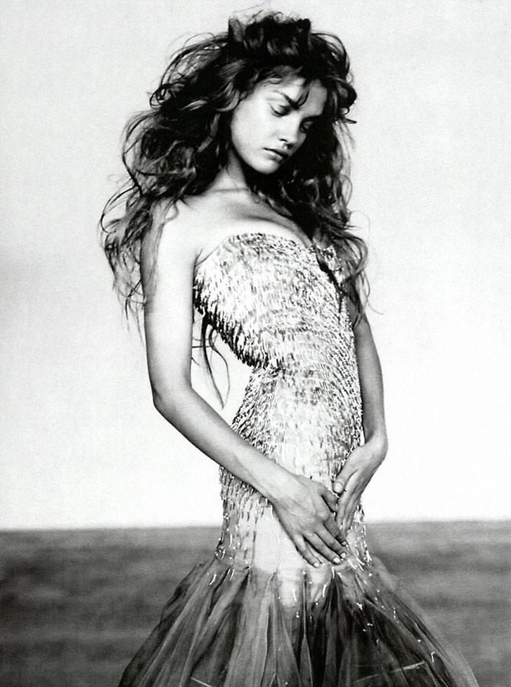 модель Наталья Водянова / Natalia Vodianova, фотограф Paolo Roversi
