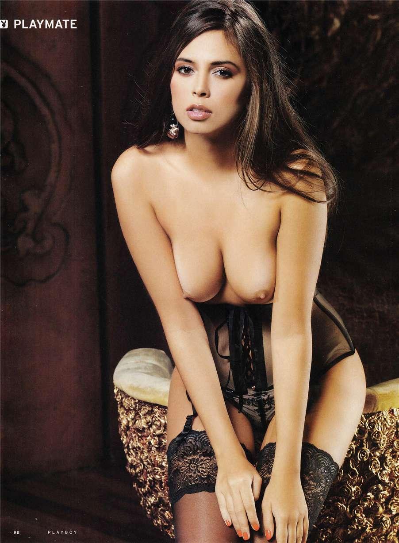 Анастасия Новодран в Playboy Russia november 2010