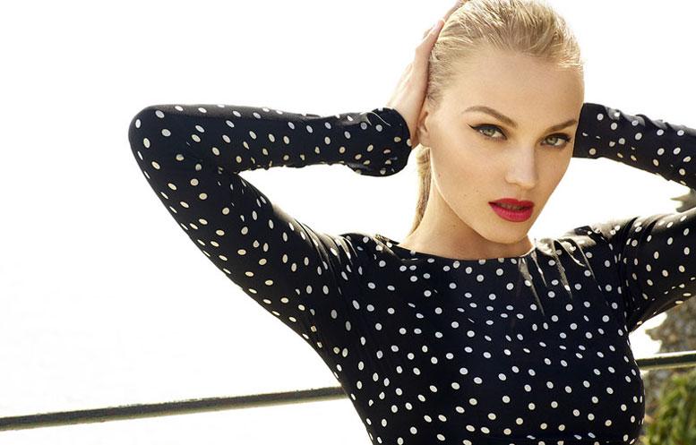 модель Anna Jagodzinska / Анна Ягодзинска, фотограф Derek Kettela