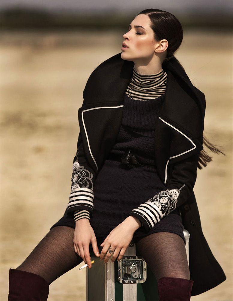 модель Джовита Мисевичуйте / Jovita Miseviciute, фотограф Zoltan Tombor