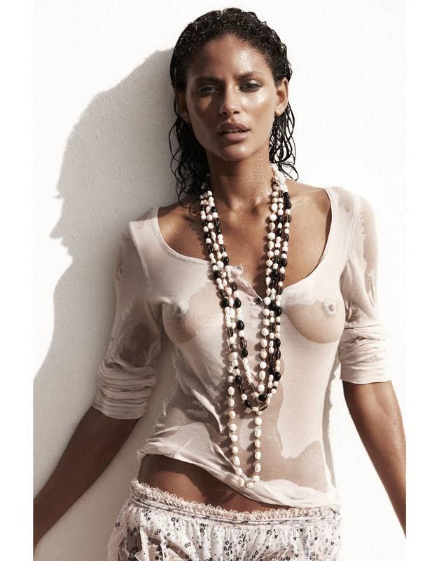сексуальная девушка Эмануэла де Паула / Emanuela de Paula, фотограф Gavin Bond
