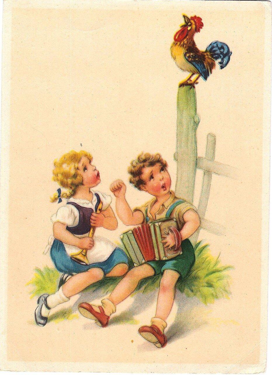 Картинка немецкой открытки