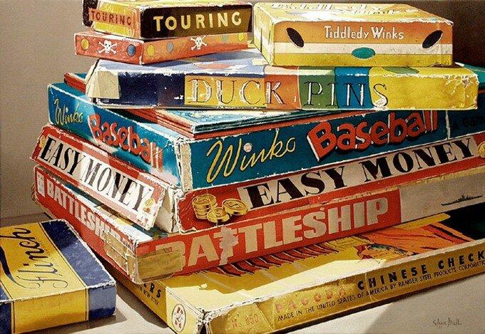 paintings by Steve Mills