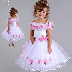 Выкройка праздничных платьев на девочку