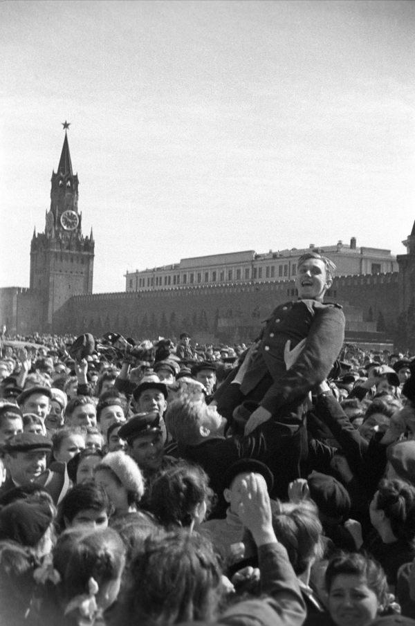 9 мая 1945 года на Красной площади