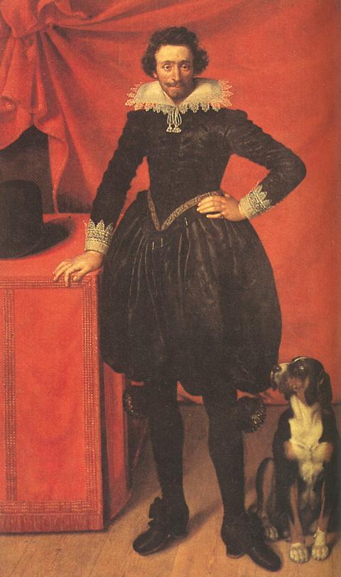 Поурбус, Франс Младший. Герцог де Шеврез 1610г. Portrait of Claude de Lorrain, Prince of Chevreuse